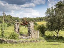 Watermill w wsi Fotografia Royalty Free