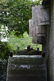 Watermill wheel. Royalty Free Stock Images
