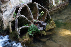 Watermill wheel Royalty Free Stock Photography