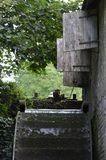 Watermill wheel. Royalty Free Stock Photography