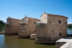 Watermill in Zamora Royalty Free Stock Photography