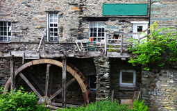 Watermill在Ambleside 免版税图库摄影