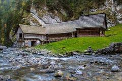 watermills Photo libre de droits