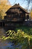 Watermolen Royalty-vrije Stock Foto's