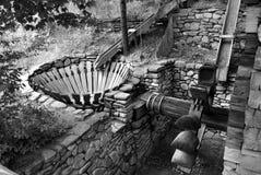 Watermolen Stock Afbeelding