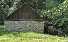 Watermolen in Roemenië royalty-vrije stock foto