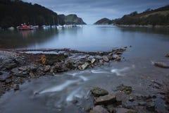 Watermouth liten vik Arkivfoto