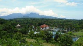 Waterpaleis Ujung in Bali Stock Foto's