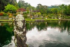 Waterpaleis van Tirta Gangga in Oost-Bali, Karangasem, Indonesië Royalty-vrije Stock Fotografie