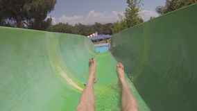 Waterpark almacen de metraje de vídeo