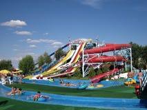 waterpark Arkivbild