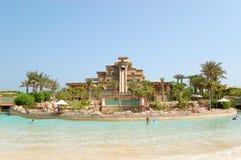Waterpark of Atlantis the Palm hotel. Dubai, United Arab Emirates Stock Photography