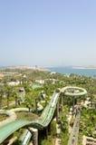 Waterpark of Atlantis the Palm hotel. Dubai, UAE Stock Images