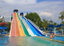 Waterpark bij het park van Siam Royalty-vrije Stock Afbeelding