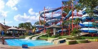 Waterpark bij het parkvermaak van Siam Royalty-vrije Stock Afbeelding