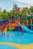 Waterpark. Royalty Free Stock Image