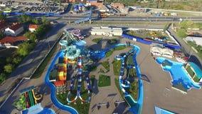 Waterpark DON Park La Russia La Russia Batajsk archivi video