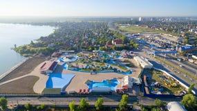 Waterpark DON Park Lac salt Russie La Russie Bataysk Photos libres de droits