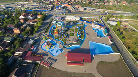 Waterpark DON Park Lago salt Rússia Região de Rostov Bataysk Fotos de Stock Royalty Free