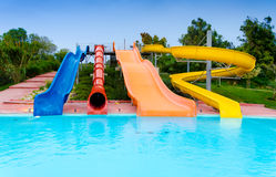 At the Waterpark Royalty Free Stock Photography