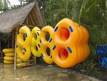 Waterpark equipmnet Stock Photo