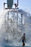 Waterpark, plons Stock Foto's