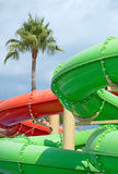 Waterpark resort. Royalty Free Stock Photo