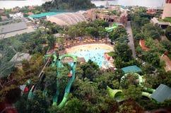 Waterpark in Singapore Royalty-vrije Stock Afbeeldingen