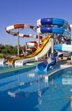 Waterpark and Slides Royalty Free Stock Photo