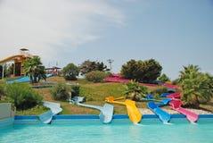 Waterpark in Spanien Stockfoto