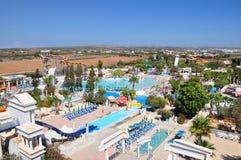 Waterpark. WaterWorld waterpark in Ayia Napa, Cyprus Royalty Free Stock Photography