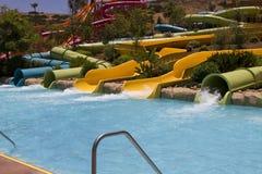 Waterparkvermaak in de Woestijn Stock Fotografie