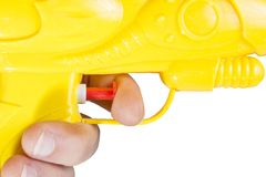 Waterpistol Stockbild