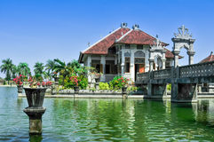 Waterplaats Indonesië stock foto