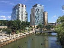 Waterplace Apartments, Providence, RI Stock Photos