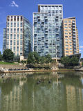 Waterplace Apartments, Providence, RI. Royalty Free Stock Images