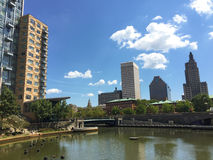 Waterplace Park, Providence, RI Royalty Free Stock Photography
