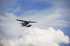 Waterplane,水上飞机 免版税库存照片