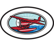 Waterplane Oval Stock Photo