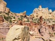 Waterpocket-Falte, Utah stockbild