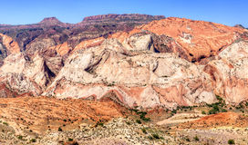 Waterpocket. Fold in Capitol Reef National Park royalty free stock images