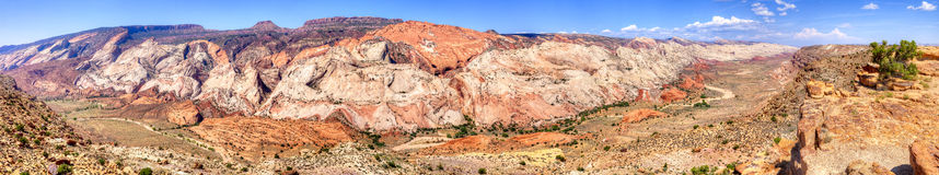 Waterpocket. Fold in Capitol Reef National Park stock images