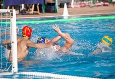 waterpolo игрока Стоковое Изображение