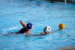 Waterpolo 2 Stock Foto