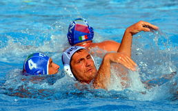 Waterpolo ballet Royalty Free Stock Photography