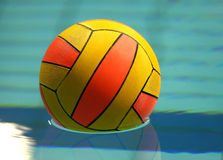 waterpolo de bille Photographie stock