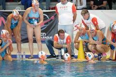 Free Waterpolo EuroLeague Women Championship Dunaujvaros & X28;HUN& X29; Vs SIS Roma & X28;ITA Stock Photos - 162844833