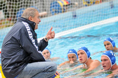 Waterpolo game stock photos
