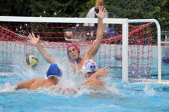Waterpolo game Royalty Free Stock Photography