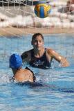 Waterpolo konkurrens Lag för CN Mataro Royaltyfri Bild